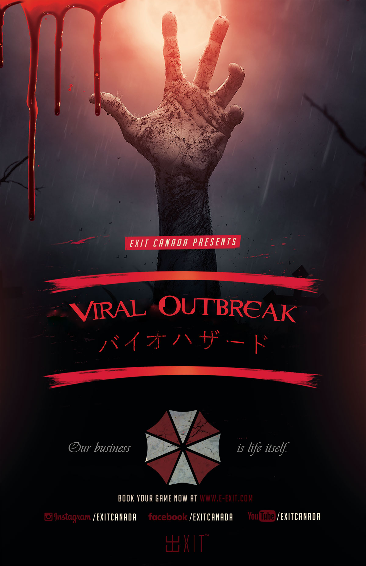 exit canada viral outbreak