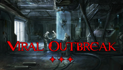 Viral outbreak escape room zombie game