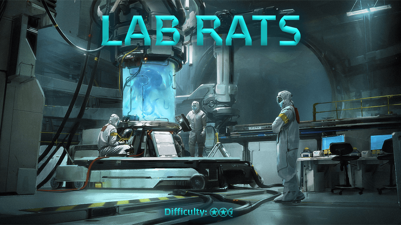 Lab Rats Escape Room