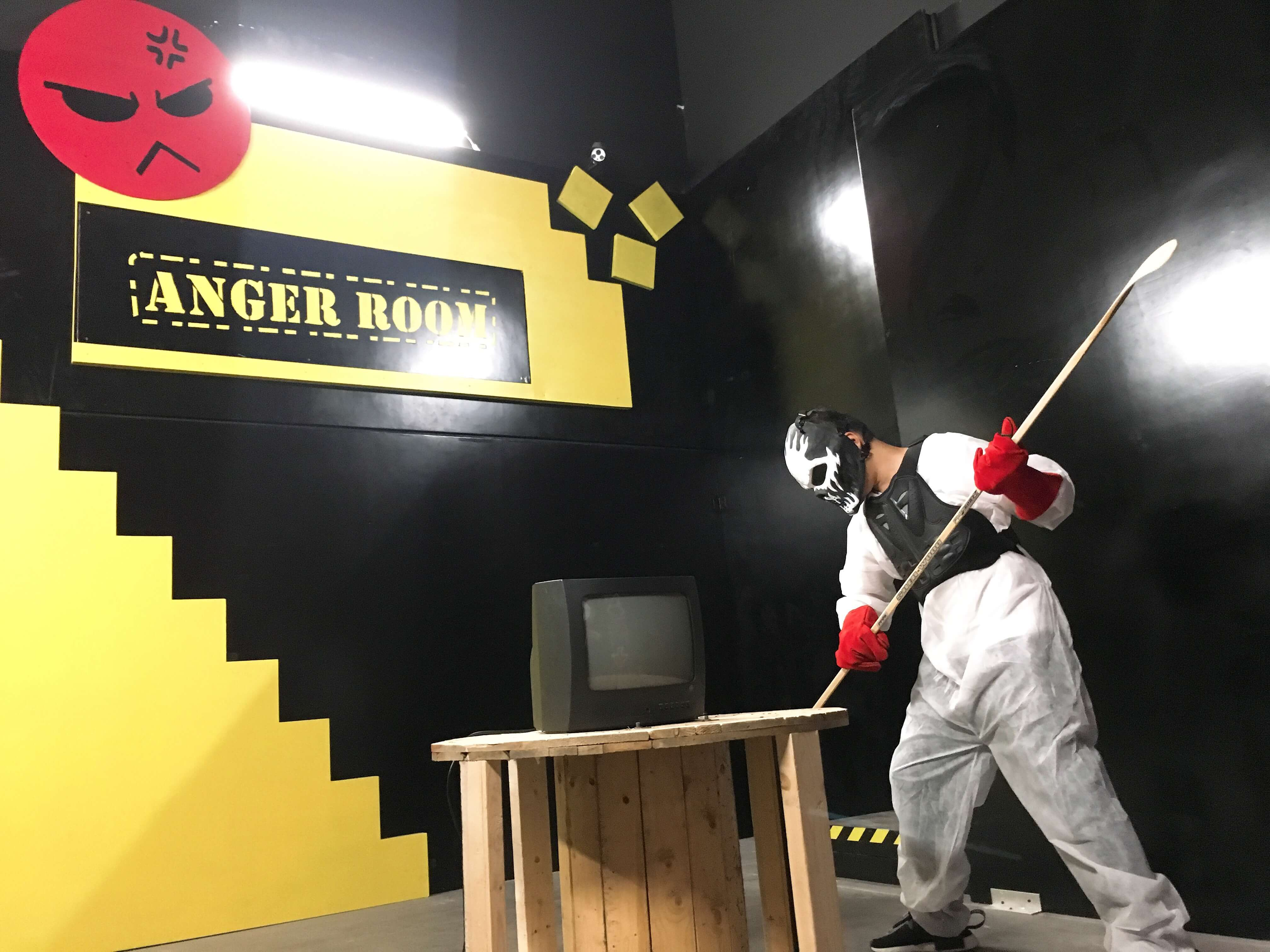 Anger Room Now Available In Richmond Bc Powered By Exit