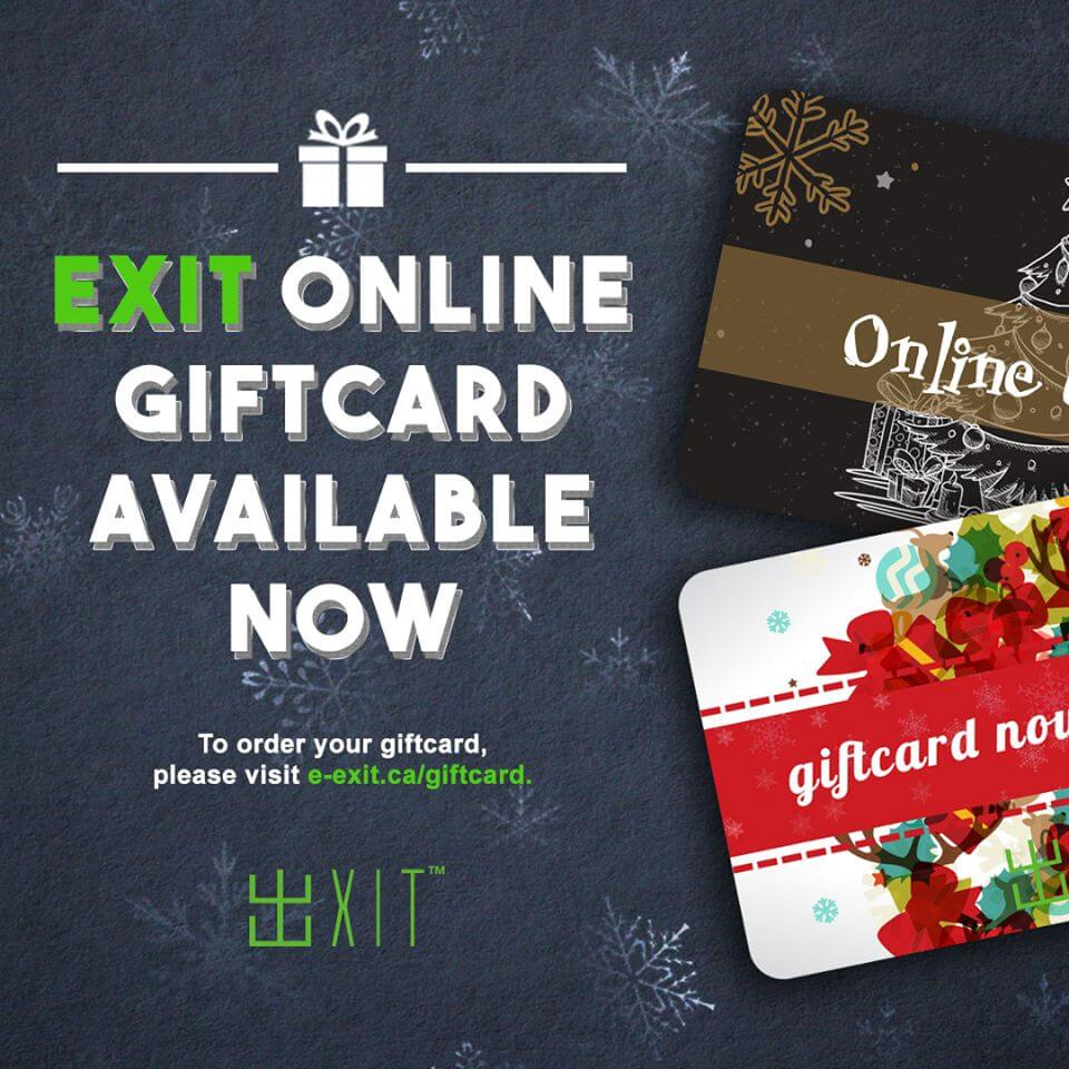 escape room giftcard